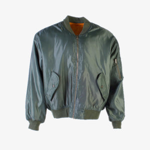 Vintage MA-1 Bomber Jacket - Dark Green - American Madness