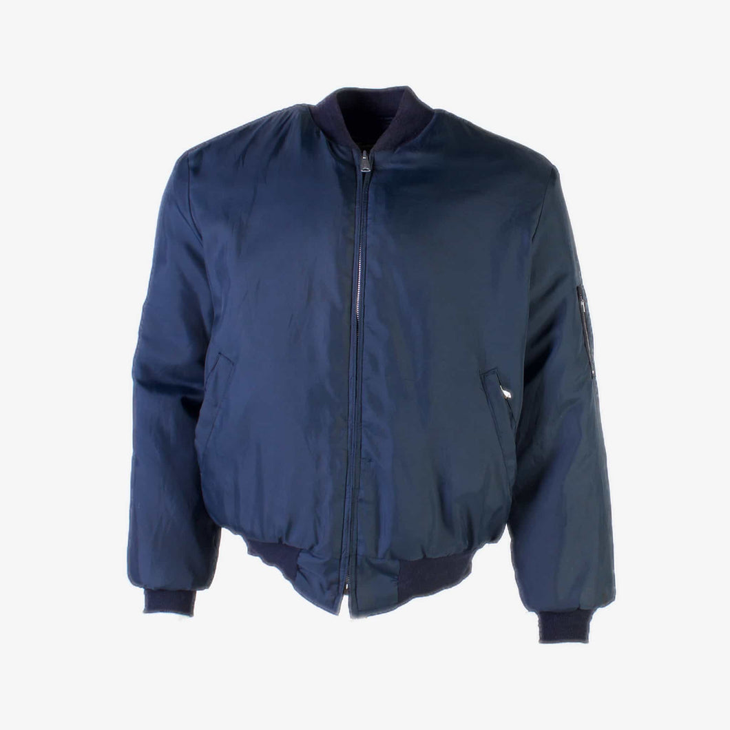 Vintage 'Timber King' MA-1 Bomber Jacket - Blue - American Madness