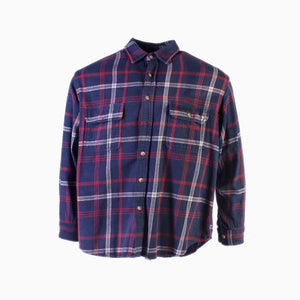 Vintage 'Moose Creek' Flannel Shirt / Overshirt - American Madness