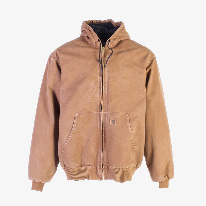 Vintage Carhartt 'Active' Hooded Jacket