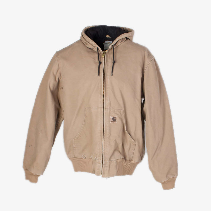 Vintage Carhartt Active Hooded Jacket - Sand