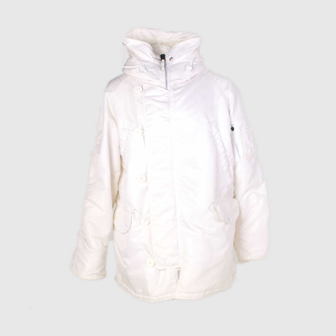 Vintage Alpha Industries N-3B Jacket -  White