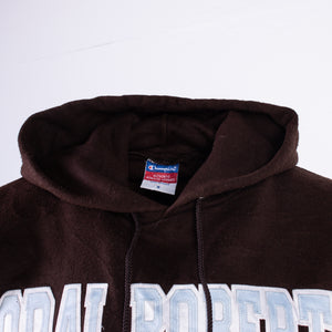Vintage 'Oral Roberts' Champion Hooded Sweatshirt - American Madness