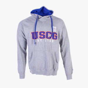 Vintage 'USCG' Champion Hooded Sweatshirt