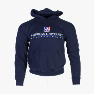 Vintage 'American University' Champion Hooded Sweatshirt