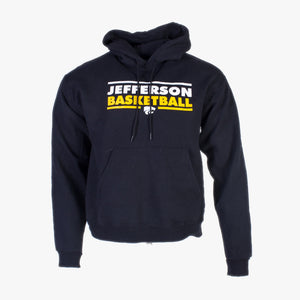 Vintage 'Jefferson Basketball' Champion Hooded Sweatshirt