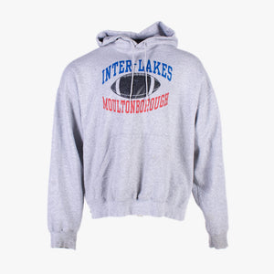 Vintage 'Inter-Lake' Champion Hooded Sweatshirt