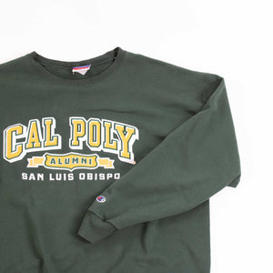 Vintage 90's Champion 'Cal Poly' Sweatshirt - American Madness