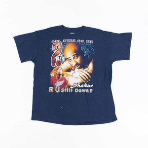 Vintage 'All Eyez on Me 2Pac' 1990's Band T-Shirt - American Madness