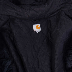Vintage Carhartt Active Hooded Jacket - Black - American Madness