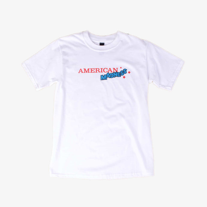 American Madness 80's Logo Tee - Colour - American Madness