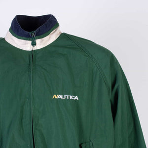 Vintage Nautica Colourblock Shell Jacket