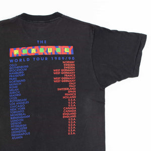 Vintage 'Paul McCartney' Screen Stars Tour T-Shirt - American Madness