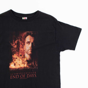 Vintage 'Arnold Schwarzenegger' End Of Days T-Shirt - American Madness
