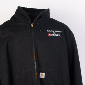 Vintage Carhartt 'Active' Hooded Jacket - Black - American Madness