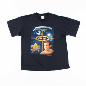 Vintage 'Captain Kirk Star Trek' T-Shirt - American Madness