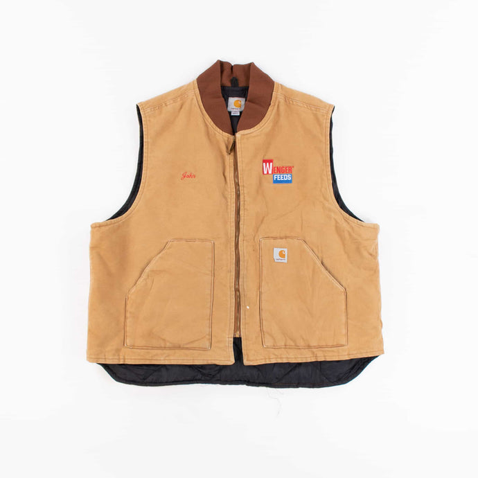 Vintage Carhartt Vest - Duck Brown
