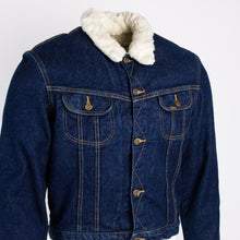 Vintage Lee Rider Sherpa Denim Jacket