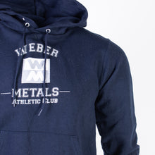 Vintage 'Weber Metals' Champion Hooded Sweatshirt - American Madness