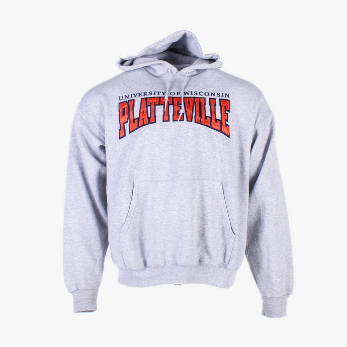 Vintage 'Platteville' Champion Hooded Sweatshirt