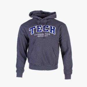 Vintage 'TECH' Champion Hooded Sweatshirt