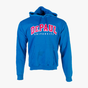 Vintage 'DePaul' Champion Hooded Sweatshirt