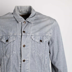 Vintage Levi's Corduroy Trucker Jacket - Blue - American Madness