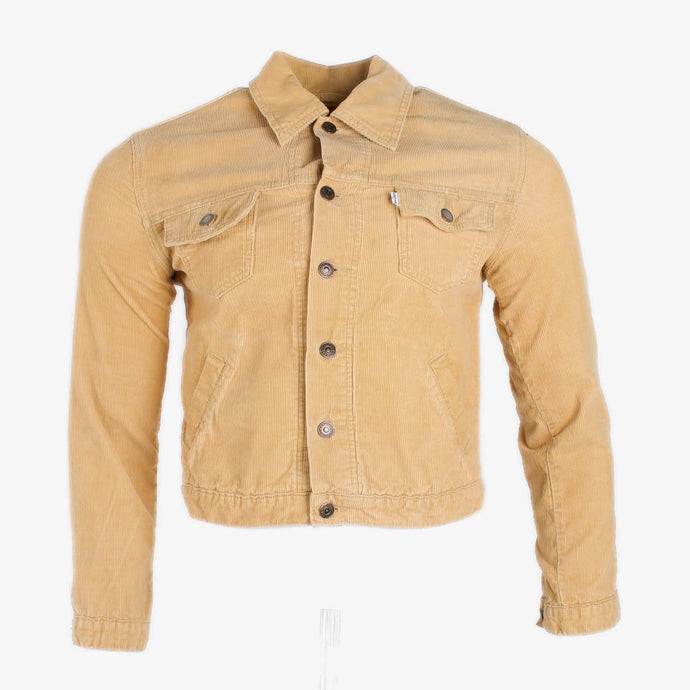 Vintage Levi's Corduroy Trucker Jacket - Tan - American Madness