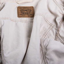 Vintage Levi's Corduroy Trucker Jacket - White - American Madness