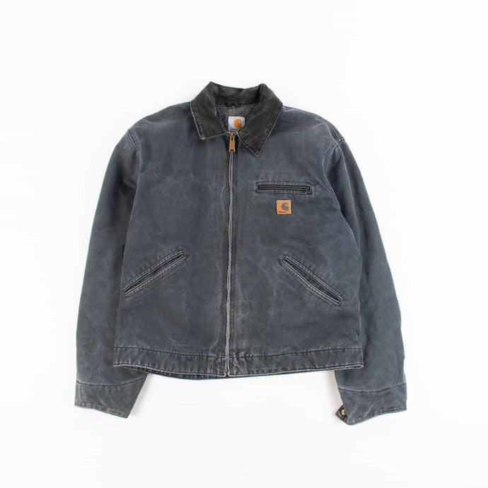 Vintage Carhartt Detroit Jacket - Washed Black