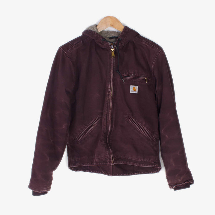 Vintage Carhartt Work Jacket - Burgundy