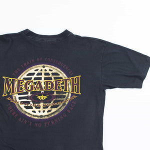 Vintage 1990's Megadeath 'The Tigers Eat Their Young' T-Shirt
