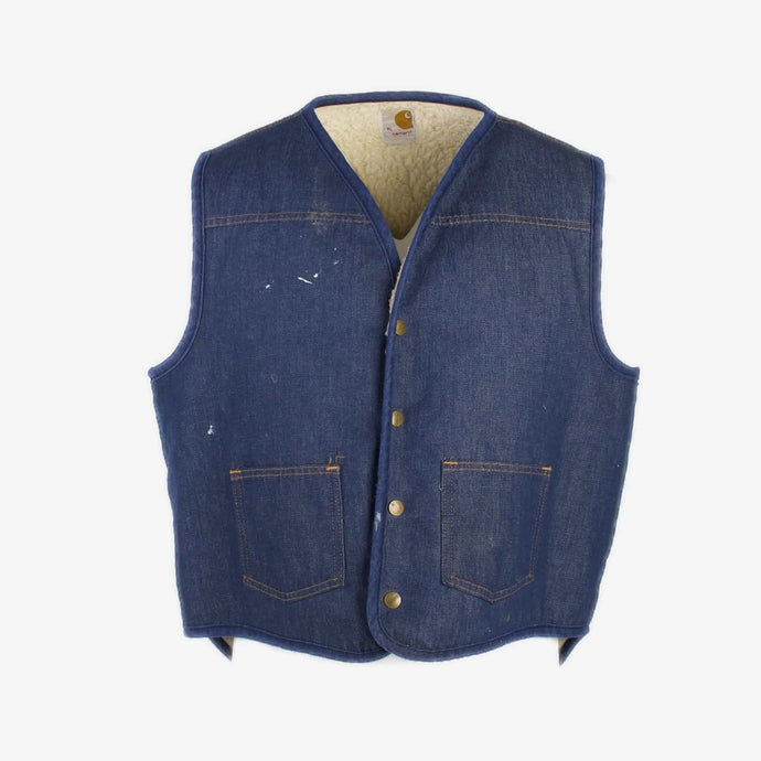 Vintage Carhartt Insulated Vest - Denim