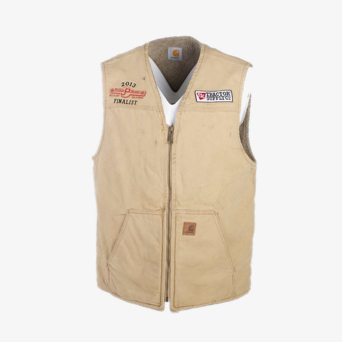 Vintage Carhartt Insulated Vest - Cream - American Madness