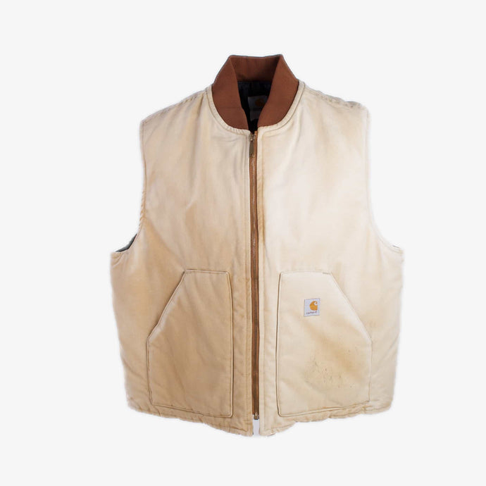 Vintage Carhartt Insulated Vest - Duck