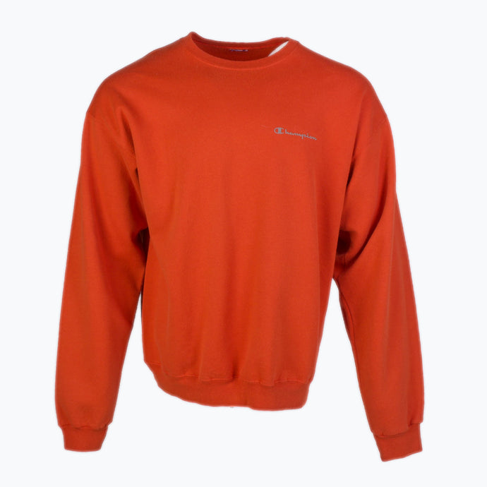 Vintage Champion Sweatshirt - Orange