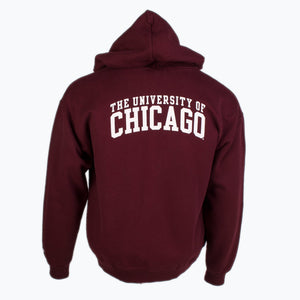 Vintage Champion Zip-up Sweatshirt - Burgundy - American Madness