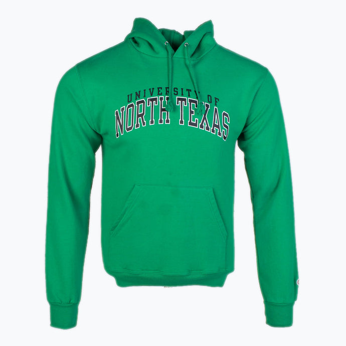 Vintage 'North Texas' Champion Hooded Sweatshirt - American Madness