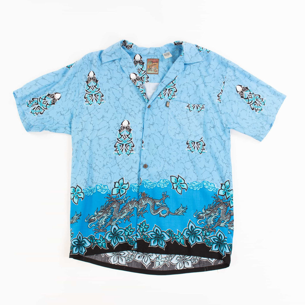 Vintage 'Pineapple Connection' Hawaiian Shirt - American Madness