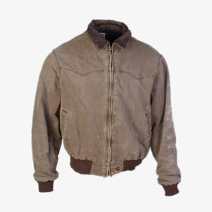 Vintage Carhartt Twill Jacket - Brown