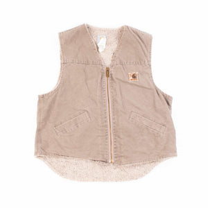 Vintage Carhartt Insulated Vest - Stone Grey