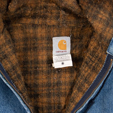 Vintage Carhartt Hooded Active Jacket - Denim