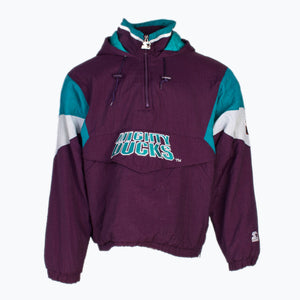 Vintage Mighty Ducks Starter Jacket - American Madness