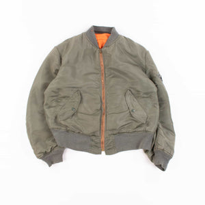 Vintage Alpha Industries Bomber Jacket - Sage Green