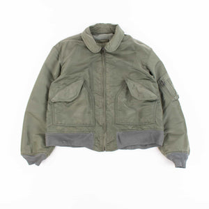 Vintage Alpha Industries CWU 45 Flight Jacket - Sage Green