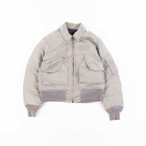 Vintage Alpha Industries CWU 45 Flight Jacket - Grey
