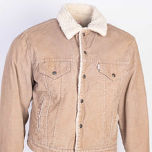 Vintage Levi's Corduroy Sherpa Jacket - Brown - American Madness