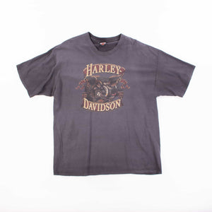 Vintage 'Fort Worth' Harley Davidson T-Shirt - American Madness