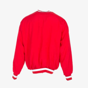 Vintage 'Bedford' College Track Jumper - Red - American Madness