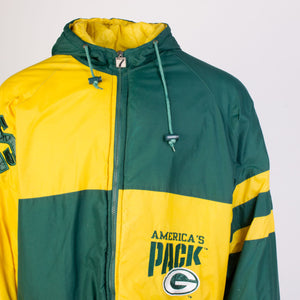 Vintage Green Bay Packers NFL Warmup Jacket - American Madness